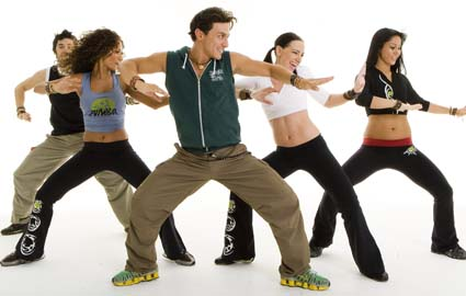 to Give Into the Zumba Craze PLUS New Zumba Workout Via YouTubeZumba Dancers